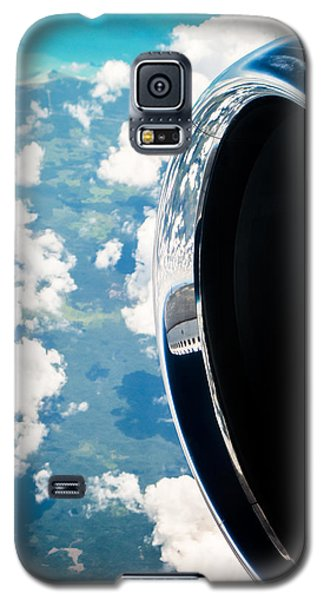 Jet Galaxy S5 Case - Tropical Skies by Parker Cunningham