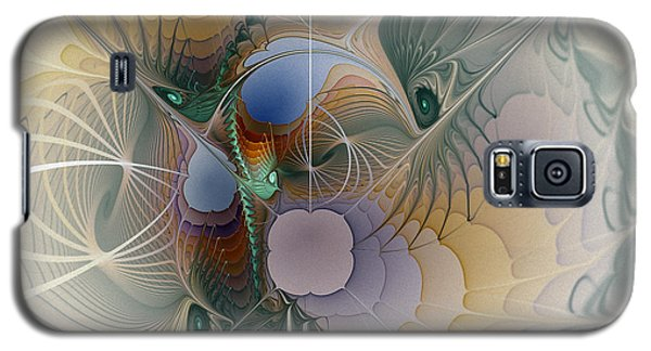 Airy Space-fractal Art Galaxy S5 Case