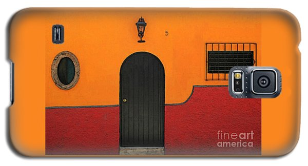 Ajijic Door No.4 Galaxy S5 Case