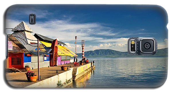Ajijic Pier - Lake Chapala - Mexico Galaxy S5 Case