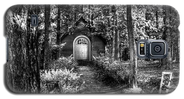 Ajsp Chapel Bw Galaxy S5 Case by Andy Lawless