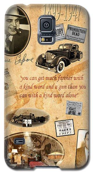 Al Capone Galaxy S5 Case