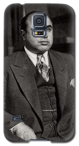 Al Capone - Scarface Galaxy S5 Case by Doc Braham