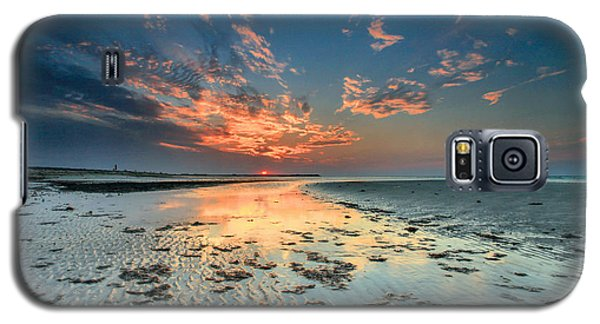 Galaxy S5 Case featuring the photograph Al Hamra Sunset by Robert  Aycock