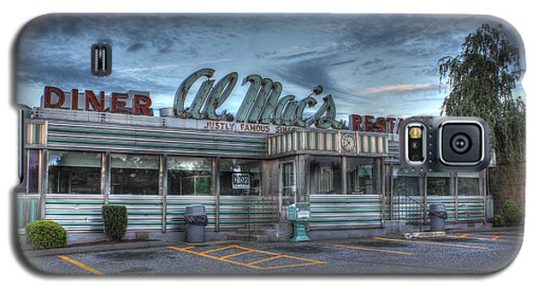Al Mac's Diner Galaxy S5 Case by Andrew Pacheco