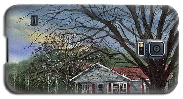 Galaxy S5 Case featuring the painting Alabama House by Tim Oliver