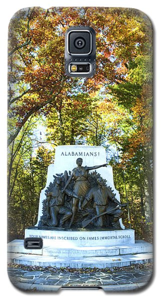 Alabama Monument At Gettysburg Galaxy S5 Case by Paul W Faust -  Impressions of Light