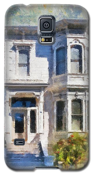 Alameda 1880 - Queen Anne  Galaxy S5 Case by Linda Weinstock