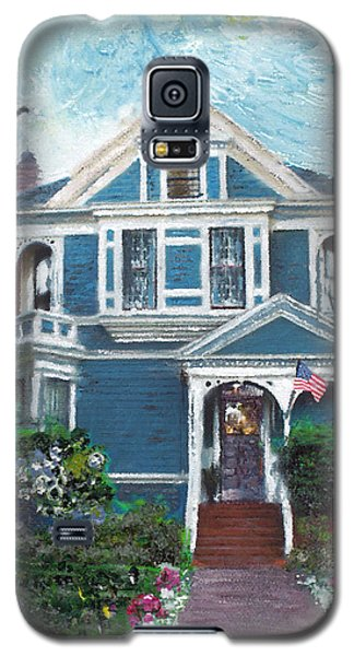 Alameda 1887 - Queen Anne Galaxy S5 Case by Linda Weinstock