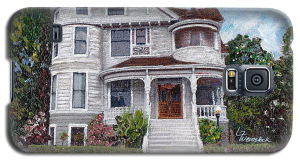 Alameda 1897 - Queen Anne Galaxy S5 Case by Linda Weinstock
