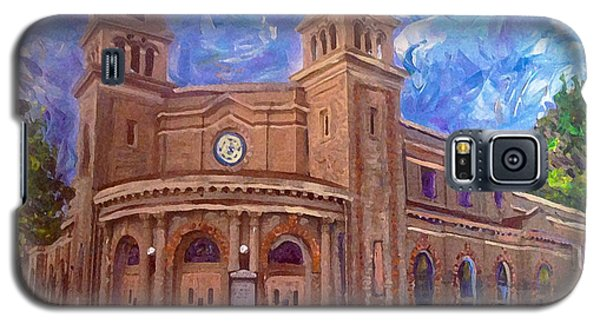 Alameda 1909  Twin Towers Church - Italian Renaissance  Galaxy S5 Case by Linda Weinstock
