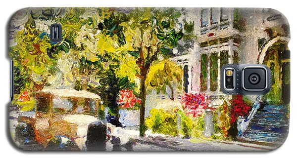 Alameda  Afternoon Drive Galaxy S5 Case by Linda Weinstock
