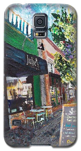 Alameda Julie's Coffee N Tea Garden Galaxy S5 Case