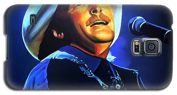 Alan Jackson Painting Galaxy S5 Case