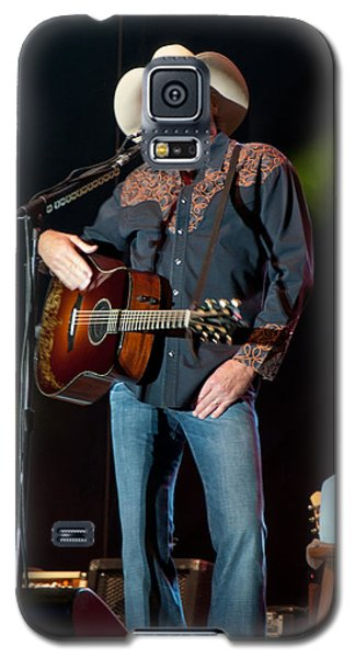 Galaxy S5 Case featuring the photograph Alan Jackson - Where I Come From by John Black