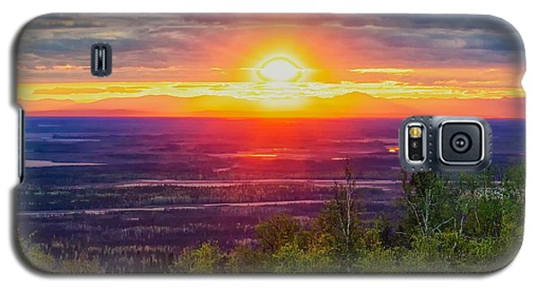 Galaxy S5 Case featuring the photograph Alaska Land Of The 11 Pm Sun by Michael Rogers