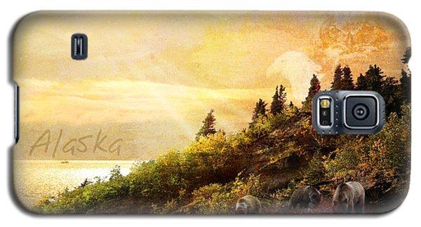 Alaska Montage Galaxy S5 Case by Ann Lauwers