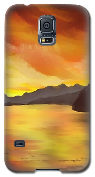 Alaska Sunset Galaxy S5 Case
