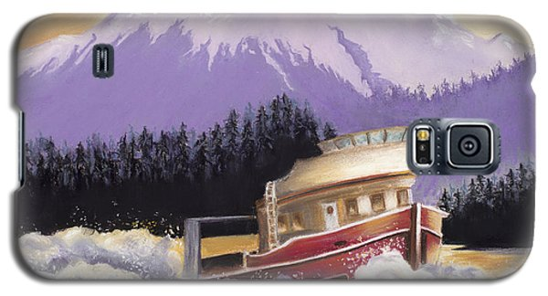 Alaskan Boat Adventure Galaxy S5 Case