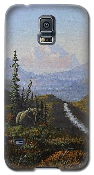Alaskan Brown Bear Galaxy S5 Case by Richard Faulkner