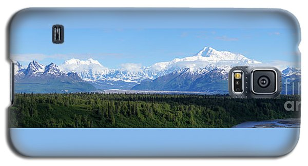 Alaskan Denali Mountain Range Galaxy S5 Case by Jennifer White