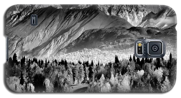 Galaxy S5 Case featuring the photograph Alaskan Mountains by Katie Wing Vigil