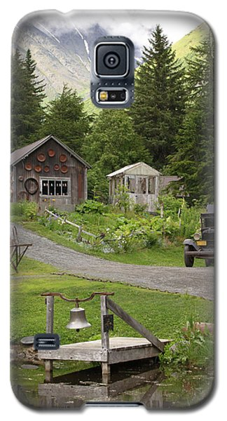 Alaskan Pioneer Mining Camp Galaxy S5 Case