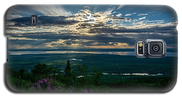 Alaskan Summer Sunset Galaxy S5 Case by Andrew Matwijec