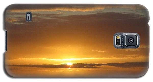 Galaxy S5 Case featuring the photograph Alaskan Sunset by Jennifer Wheatley Wolf