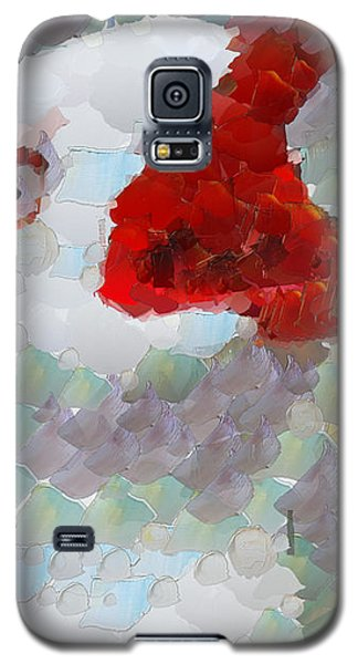 Galaxy S5 Case featuring the painting Albatross by Georgi Dimitrov