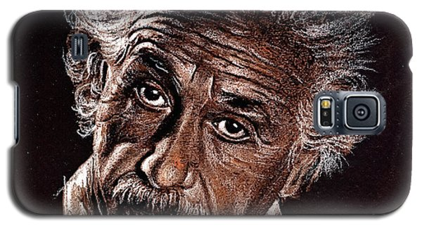 Albert Einstein Portrait Galaxy S5 Case