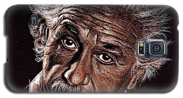 Albert Einstein Portrait Galaxy S5 Case