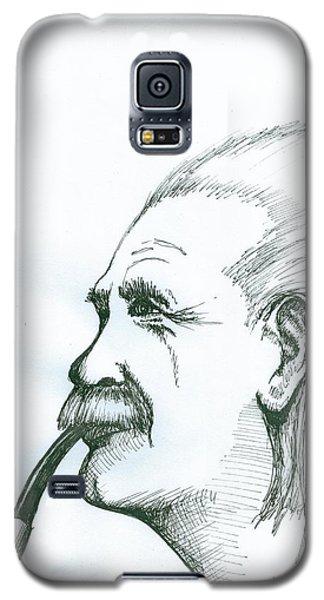 Albert Einstein Galaxy S5 Case by Richie Montgomery