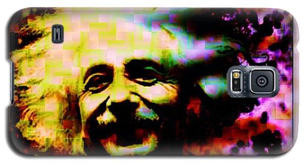 Albert Einstein - Why Is It That Nobody Understands Me - Yet Everybody Likes Me Galaxy S5 Case by Elizabeth McTaggart