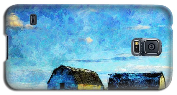 Alberta Barn At Sunset Galaxy S5 Case