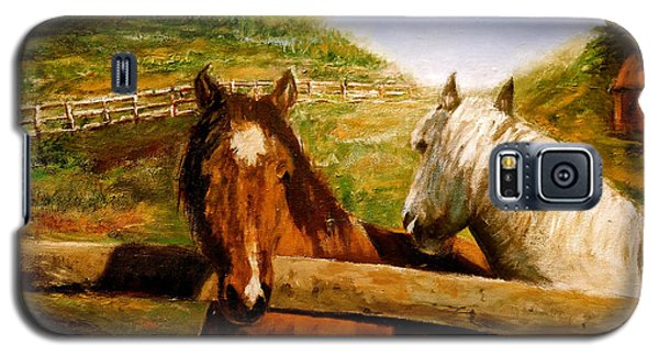 Alberta Horse Farm Galaxy S5 Case