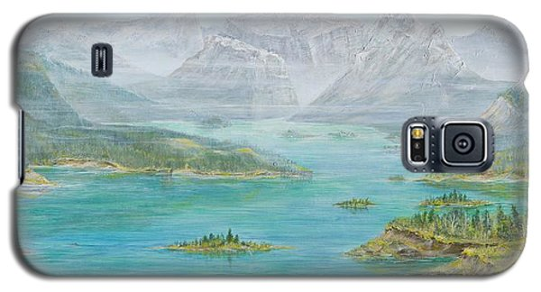 Alberta Rocky Mountains Galaxy S5 Case by Cathy Long