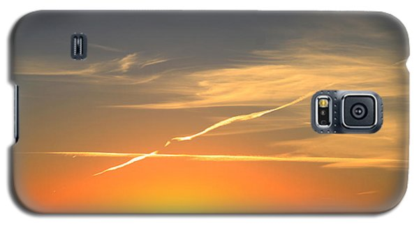 Alberta Sunset Galaxy S5 Case