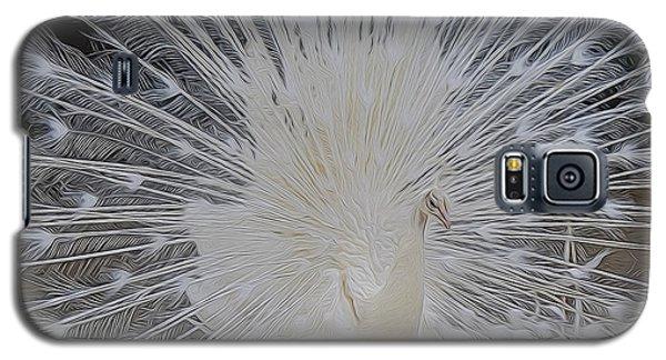 Albino Peacock Galaxy S5 Case