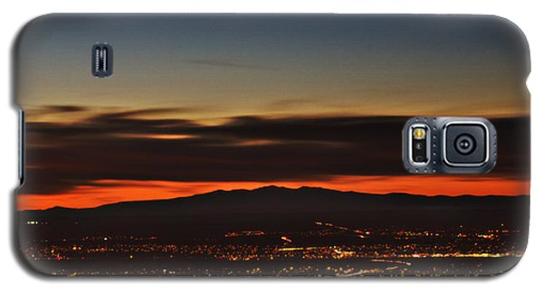 Albuquerque Sunset Galaxy S5 Case