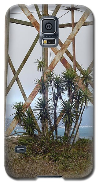 Galaxy S5 Case featuring the photograph Alcatraz Contrasts by Vadim Levin