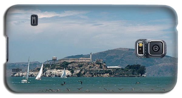 Alcatraz With Pelicans Galaxy S5 Case