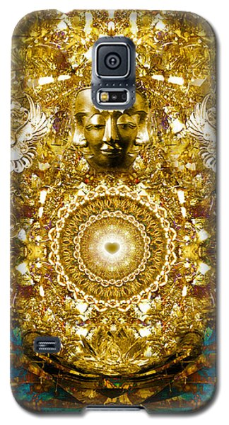 Galaxy S5 Case featuring the digital art Alchemy Of The Heart by Jalai Lama