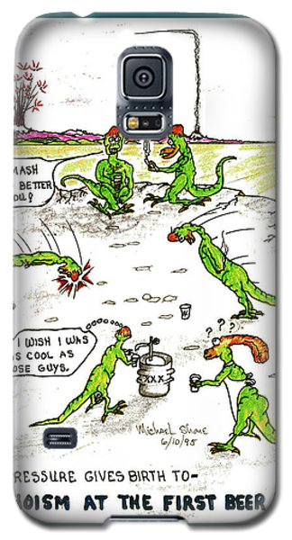 Alcohol And Teens Alcoholism Galaxy S5 Case