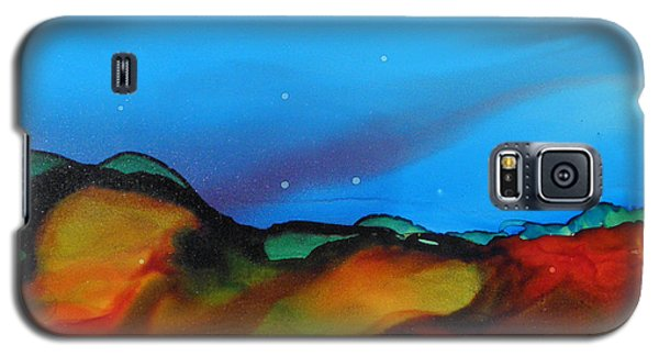Alcohol Ink Landscape # 134 Galaxy S5 Case