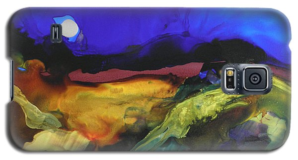 Alcohol Ink Landscape # 164 Galaxy S5 Case