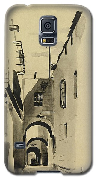 Aleppo Old City Alleyway 1 Galaxy S5 Case