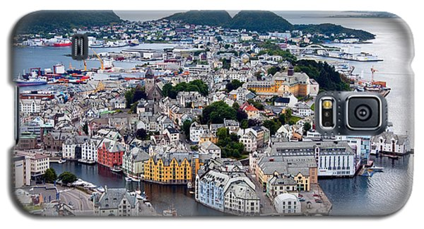 Alesund Scenic Galaxy S5 Case by Dennis Cox WorldViews