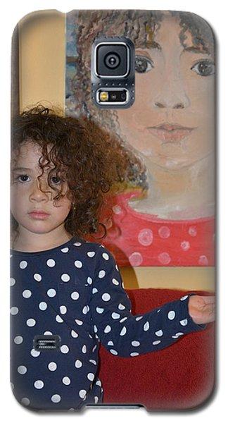 Alex And Her Portrait Galaxy S5 Case by Evelina Popilian