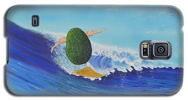 Alex The Surfing Avocado Galaxy S5 Case